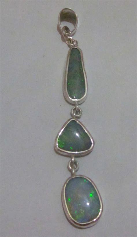 Handmade Opal Jewelry - opal pendant handmade opal necklace handmade opal necklace