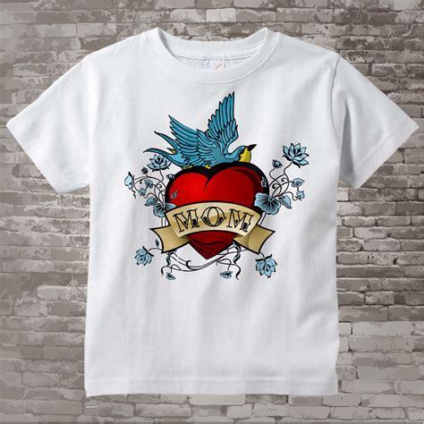 tattooed mom shirt boy s s day shirt for