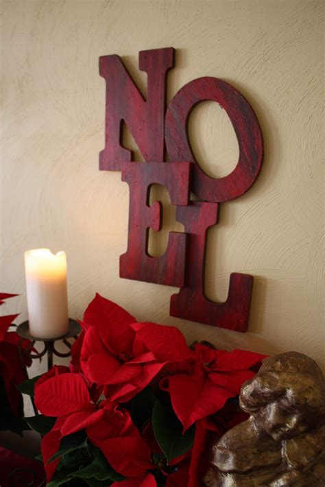 noel wood letters pottery barn inspired noel sign tutorial home stories a to z