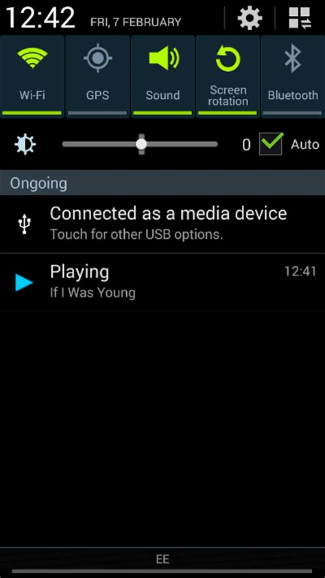 android song app with notification player 171 starling forum