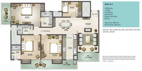 Apartment Building Floor Plans floor plans mahagun moderne sector 78 noida mahagun