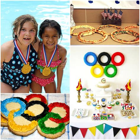 themes for olympic games olympic themed crafts food games olympic themed party
