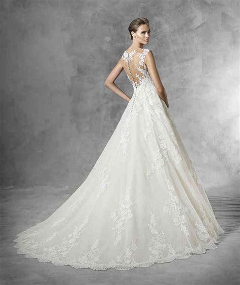 Hochzeitskleider 2016 Spitze by A Line Hochzeitskleid Aus T 252 Ll Mit Guipure Spitze Und
