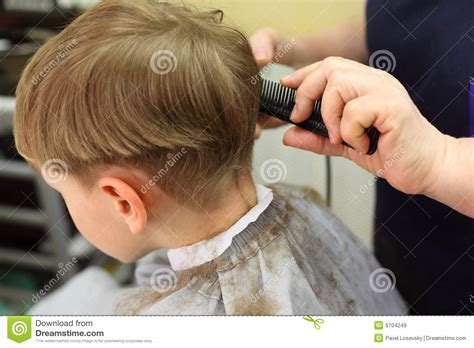 boy cut out stock photos pictures royalty free boy cut boy cut in hairdressing salon stock image image of small