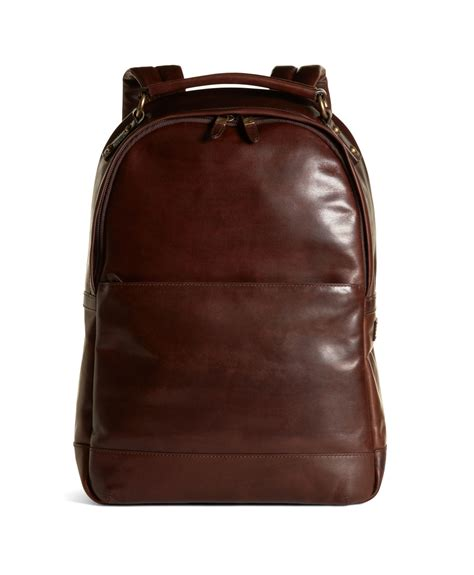 Forever 21 Ransel Kulit brothers distressed leather backpack in brown for