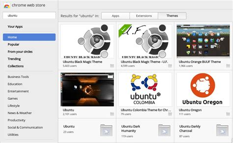 themes google chrome store is there a way to find the name of the current theme in