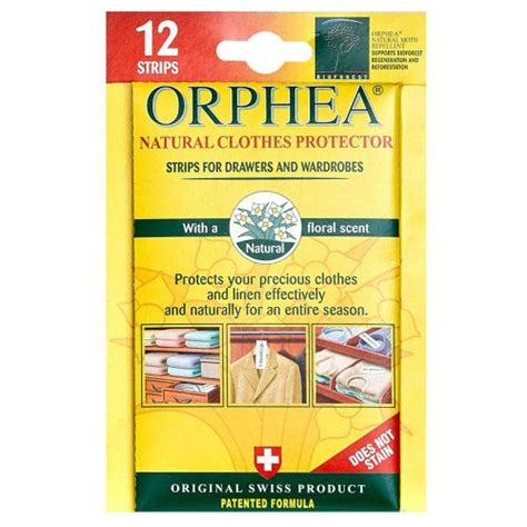 orphea moth repellent strips for drawers and wardrobes