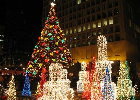 chicago tree lighting 2017 in chicago 2018 chicago market