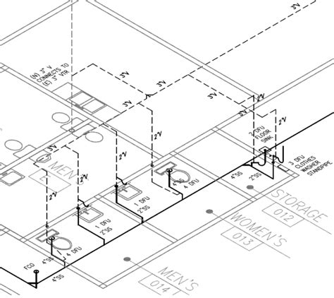 Isometric Plumbing Layout by Piping Engineering Bailey Engineering Services