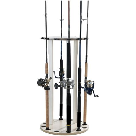 Fishing Rod Racks For Home by Organized Fishing 12 Rod Saltwater Spinning Rod Rack