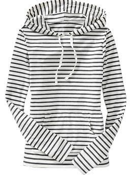 Flanel Hoody Navy White Strips hoodie stripes and navy on