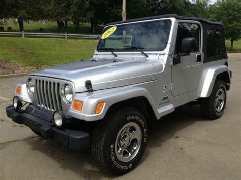 Used Jeep Wrangler Wilmington Nc Purchase Used 2004 Jeep Wrangler Se Sport Utility 2 Door 2