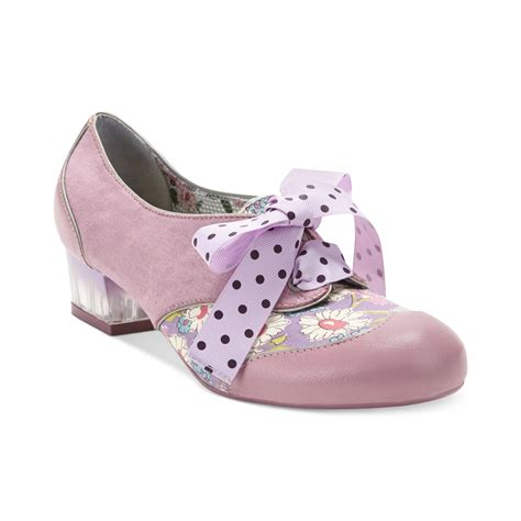 oxford shoes pink poetic licence my words oxford pumps in pink