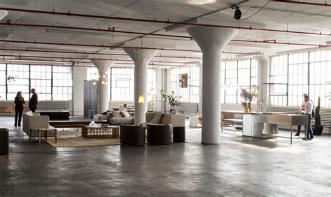 Dining Room Tables Rustic piero lissoni s brooklyn installation for new york design week