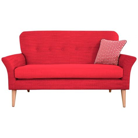petite sofa carrie petite sofa in porto red from john lewis budget