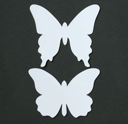 How To Make A Butterfly Chandelier Butterfly Template Card Templates Printable Pinterest