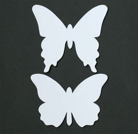 butterfly paper cut out template 13 best photos of paper butterfly template butterfly cut