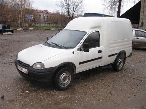 1996 Opel Combo Pictures Information And Specs Auto