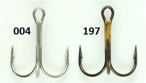 Treble Hook Vmc Size 12 Isi 8pcs vmc 9649 bend treble hooks