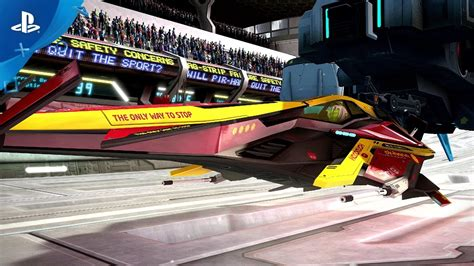 Wipeout Omega Collection Ps4 wipeout omega collection release date trailer ps4