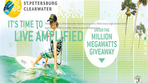St Petersburg Sweepstakes - st pete clearwater win a 2 948 trip for 2 to st petersburg cl giveawayus com