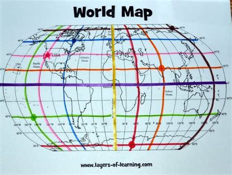 globe maps and lines of latitude worksheet free printable world map and mapping activity for learning