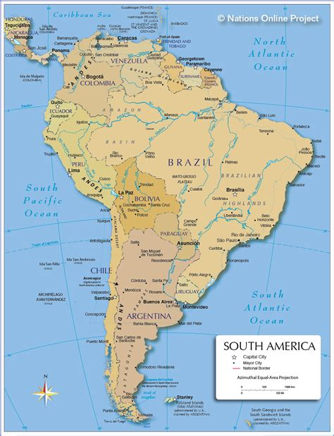 political map of south america political map of south america 1200 px nations project