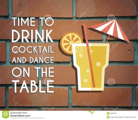 poster design keywords retro poster design for cocktail lounge bar stock vector
