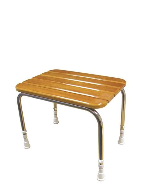 Stool Description by Wooden Shower Stool Absolute Mobility