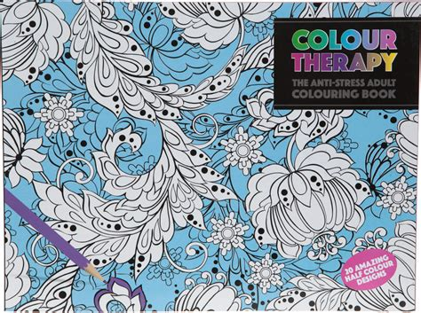 colour therapy anti stress colouring book uk wholesale bulk colour therapy book wholesaler anti