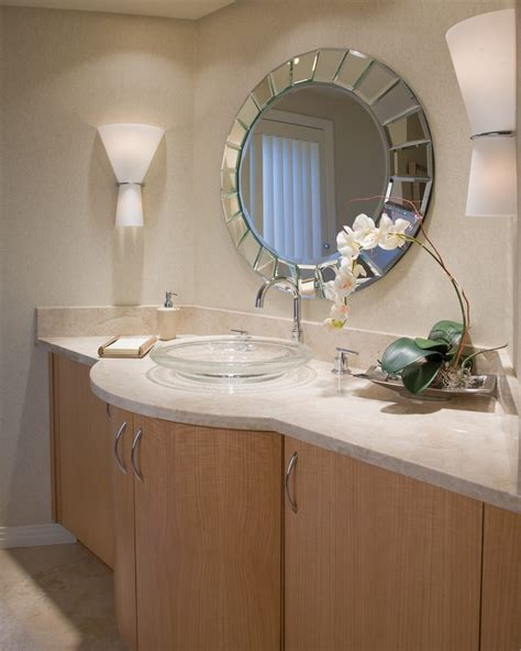 Bathroom Mirrors San Diego Brilliant Contemporary Wall Sconces San Diego With Espresso Bathroom Vanities Tops