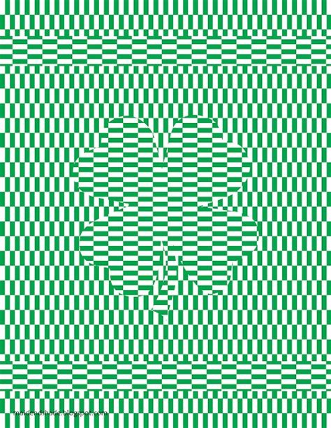 printable optical illusions pictures free printable optical illusion st patrick s day and