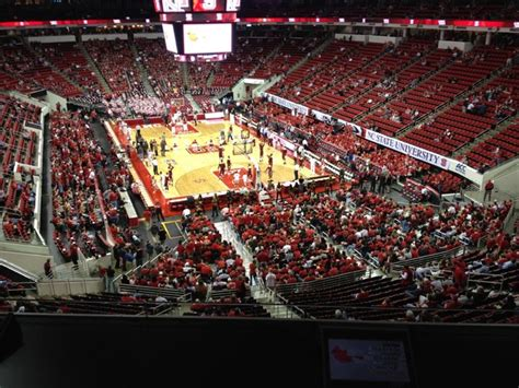 nc section pnc arena section 228 nc state basketball