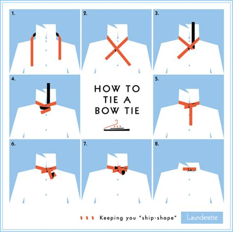 how to tie a bow tie step by step
