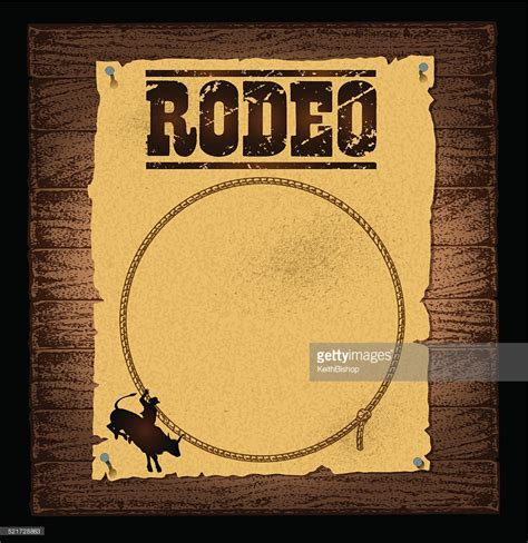Free Background Check Without Paying Rodeo Poster Background Vector Getty Images