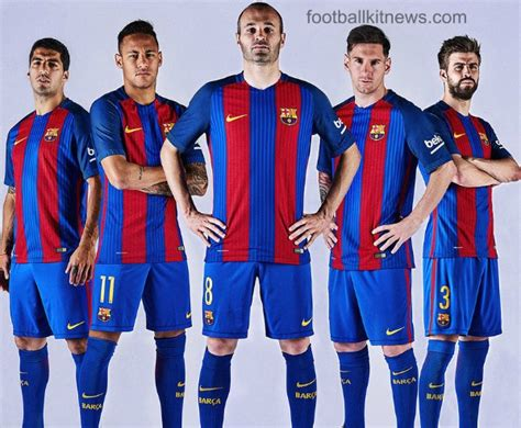 new barcelona kit 2016 17 nike fcb home jersey 16 17