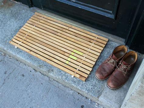 Wood Doormat how to make a monogrammed wood doormat danmade