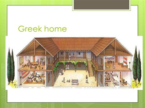 House Design Image Inside home life in ancient greece
