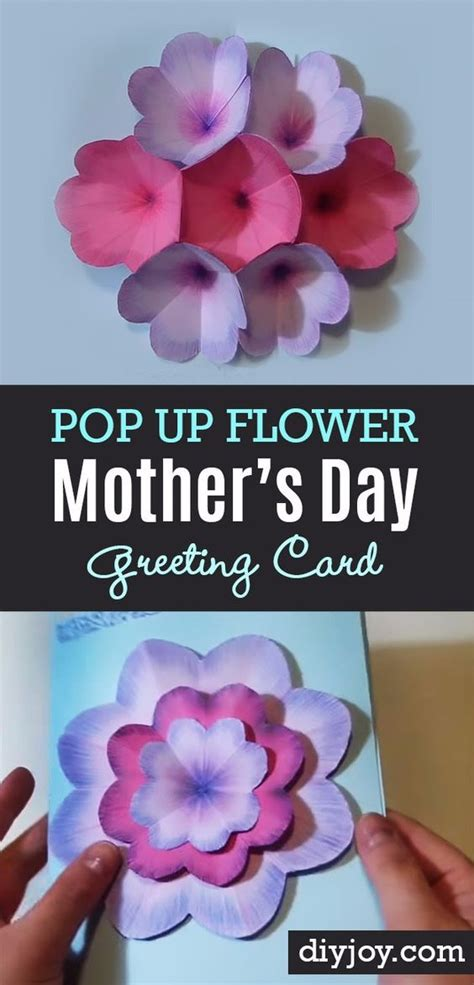 handmade mothers day cards step by step 31 diy mother s day cards mothers homemade and mom