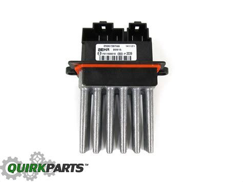 blower motor resistor pacifica 2004 2008 pacifica with auto temp blower motor resistor new mopar ebay