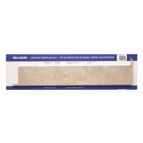 Countertop End Cap Installation by Shop Belanger Laminate Countertops 5 25 In X 25 25 In