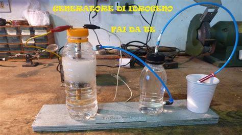 generatore di corrente per casa fai da te generatore idrogeno