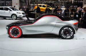 Opel Gt Concept Report Opel Gt Concept Won T Reach Production