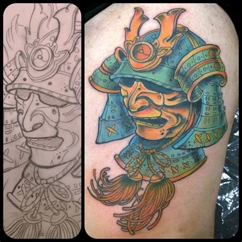 samurai helmet tattoo traditional samurai www imgkid the