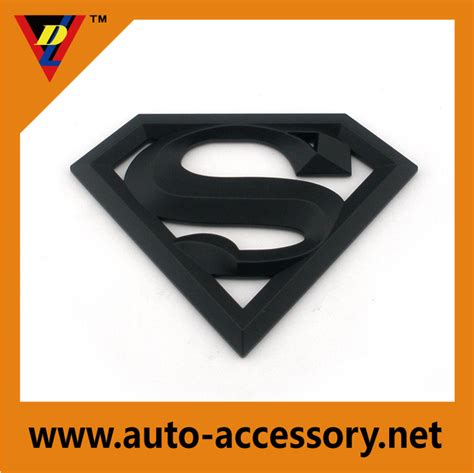 custom superman logo maker car logos emblems badges dongli xingsheng plastic co ltd