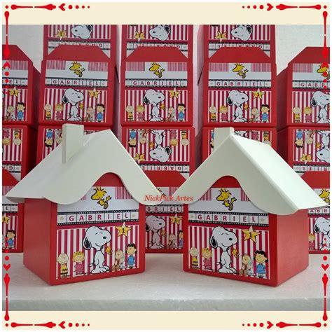 snoopy casa casa snoopy lembrancinha snoopy nickpick elo7