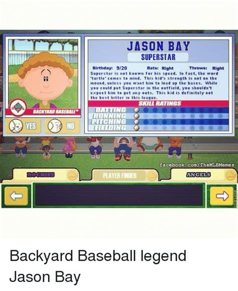 backyard baseball meme 28 images 25 best memes about