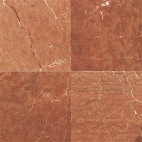 Marble Floor Tile Daltile Collection Rojo Alicante 12 In X 12