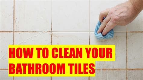 how to clean white bathroom tiles how to clean your bathroom tiles floor and wall and make