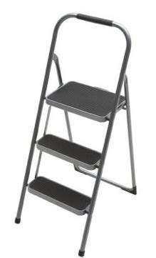 Petco Step Stool by Home Depot 3 Step High Back Steel Step Stool Only 9 88